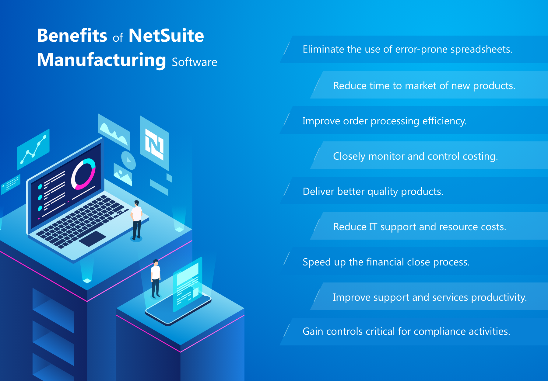 Benefits of NetSuite manufacturing