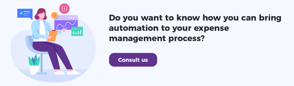 Get automation for expense management process