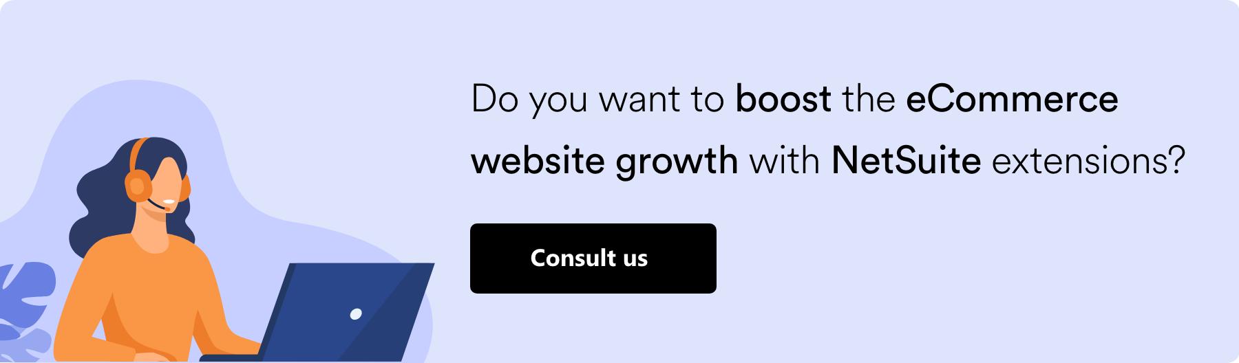 build eCommerce website with NetSuite SuiteCommerce Partners