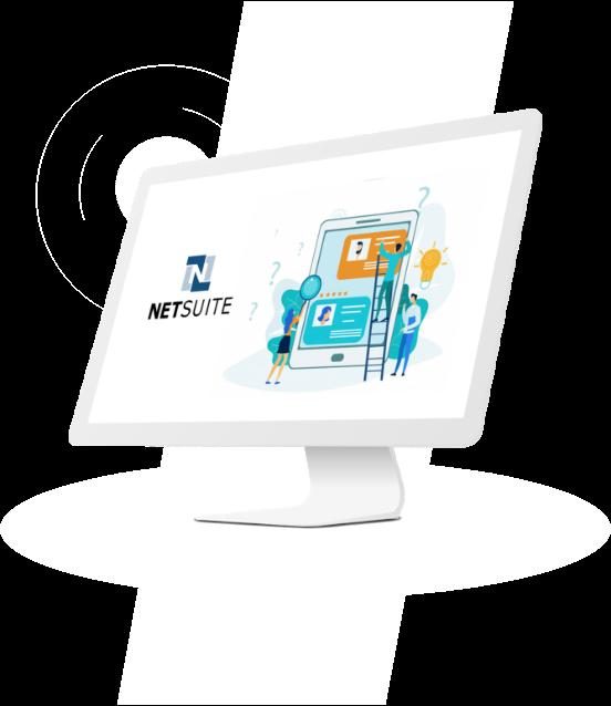 NetSuite CRM illusration
