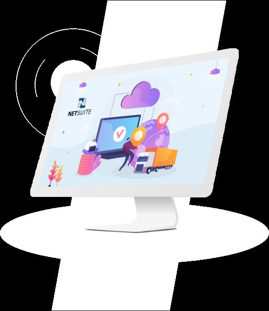 NetSuite Supply Chain Management illusration
