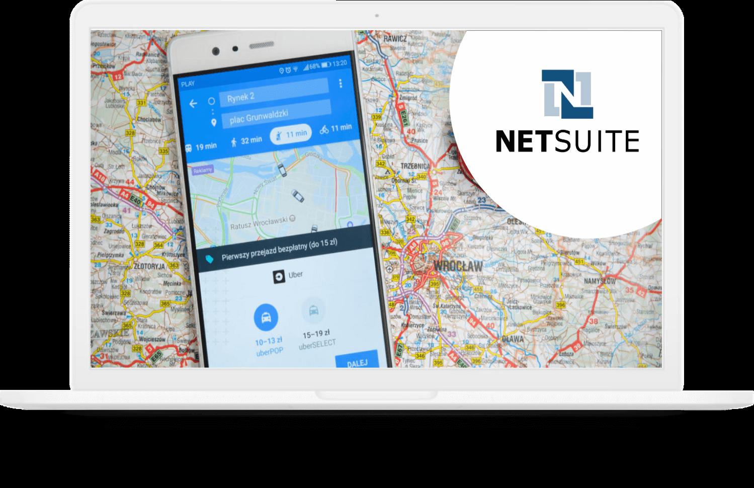 Netsuite Google Map Integration