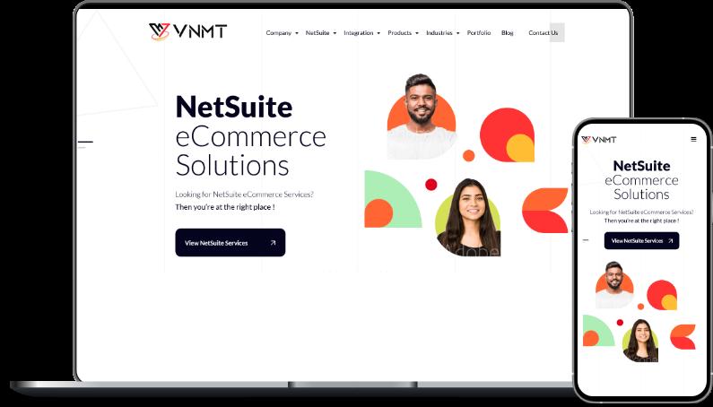 VNMT NetSuite Ecommerce Solutions
