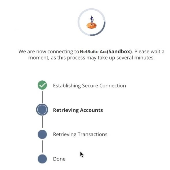 Authorization of account connection