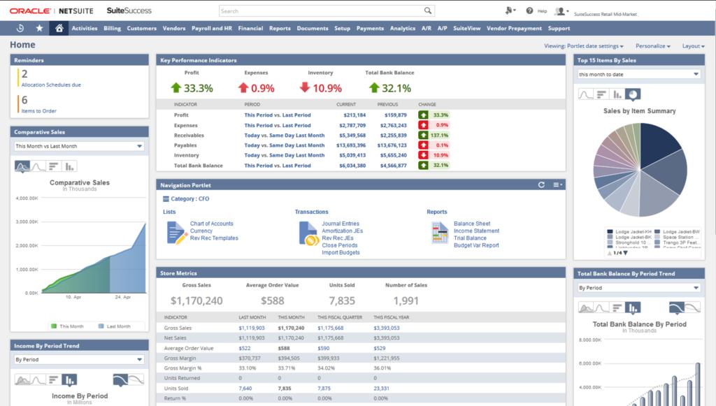 NetSuite SuiteSuccess