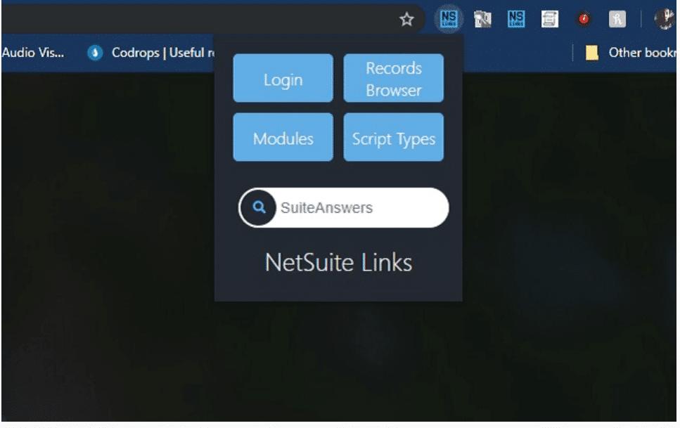 NetSuite Links